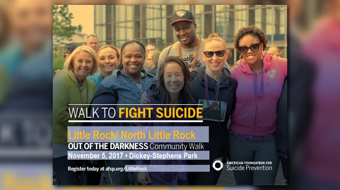 Register for the Out of the Darkness Community Walk
