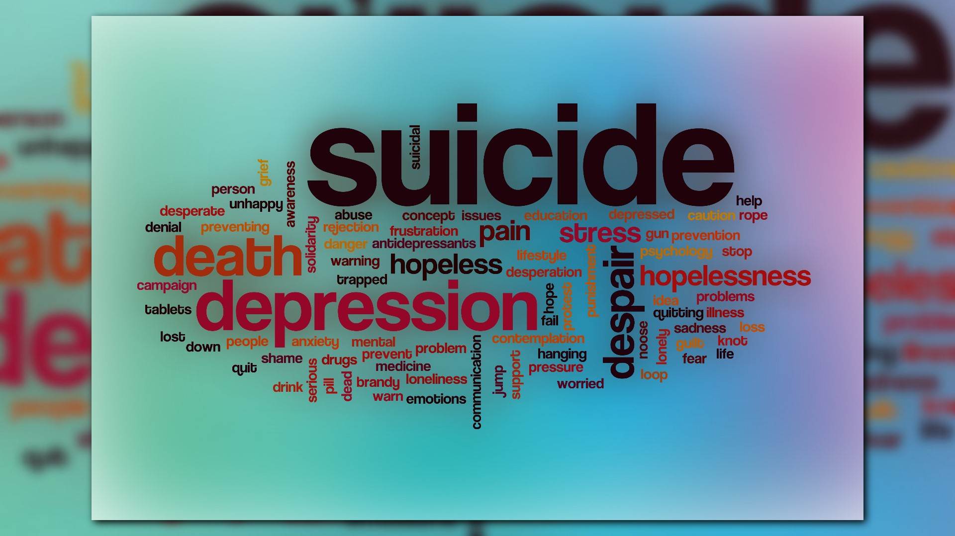 Stand up! Get help and prevent suicide