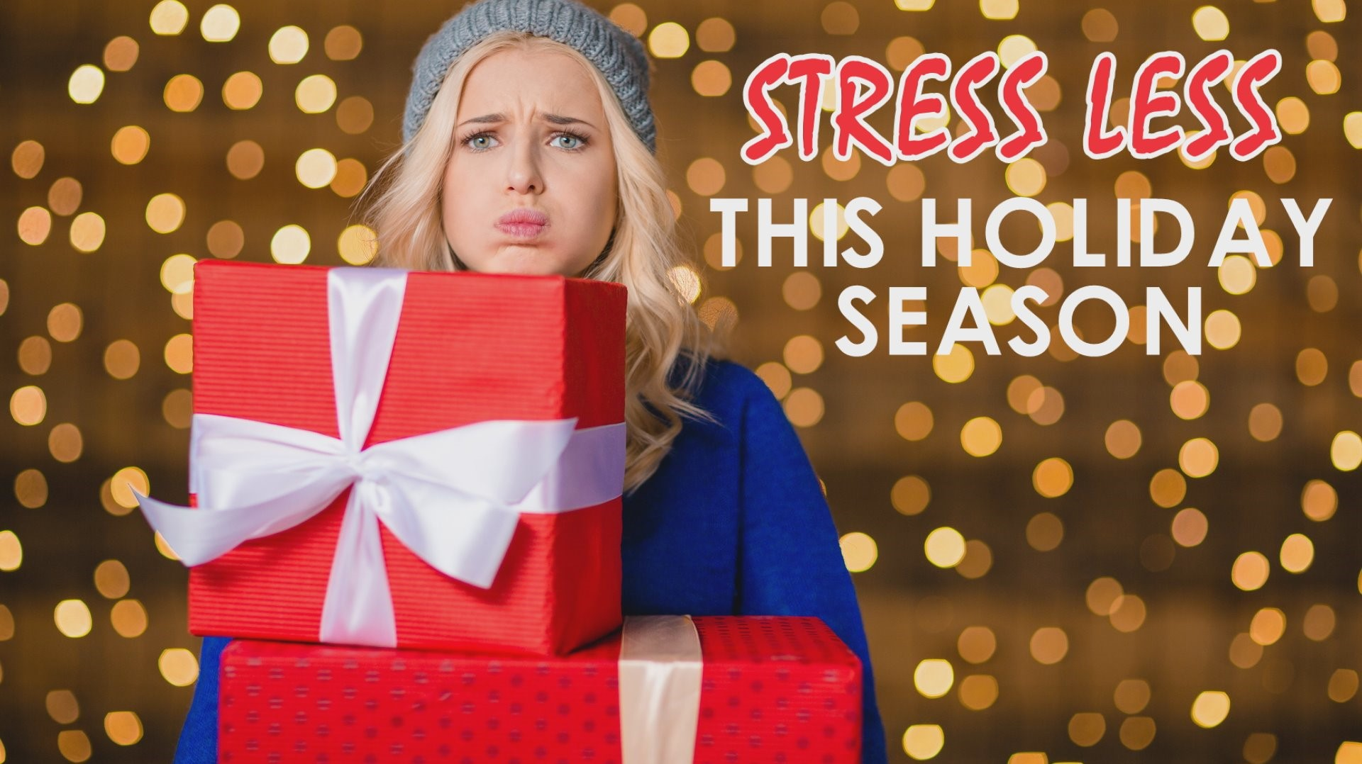 Stress-less, tips to boost mental health this holiday season